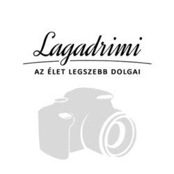 Muránói üveg Millefiori ezüst-fekete karkötő órával - kézzel készült