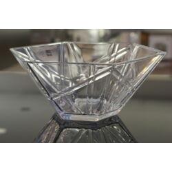 Salátás üvegtál (27.5x24cm) - Ego