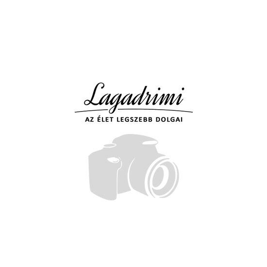 Damla kerek üvegtál - Méz (33cm)