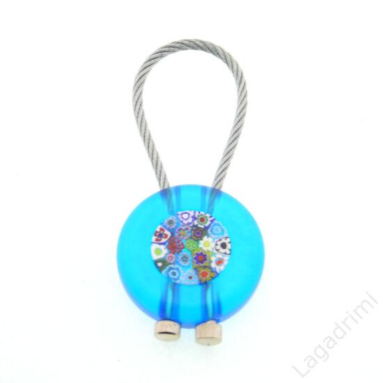 Muránói üveg kulcstartó 01 - kézzel készült
