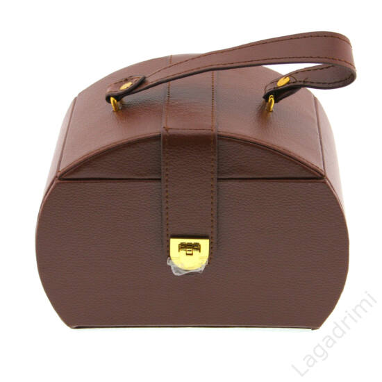 Ékszerbőrönd kicsi (barna)