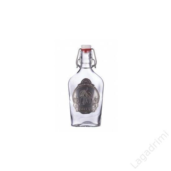 Óncímkés csatos üveg 0,2l - Szilva