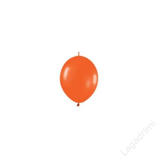 12 inch-es (30cm) Narancssárga Quick Link Lufii (6 db/csomag)