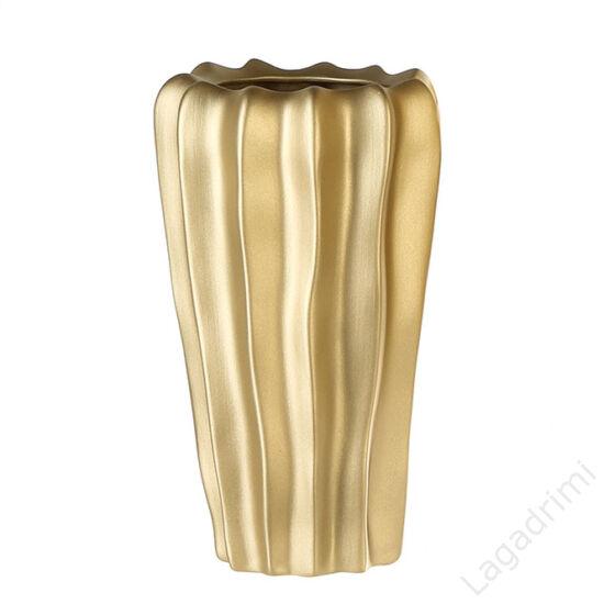 """Kerámia váza, matt """"Campo"""" (18x31x18cm) - Casablanca"""