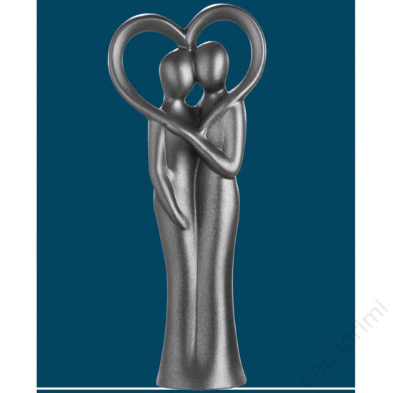 "Kerámia szobor ""Heart frame"" (12,5x30,5x7cm) - Gilde"