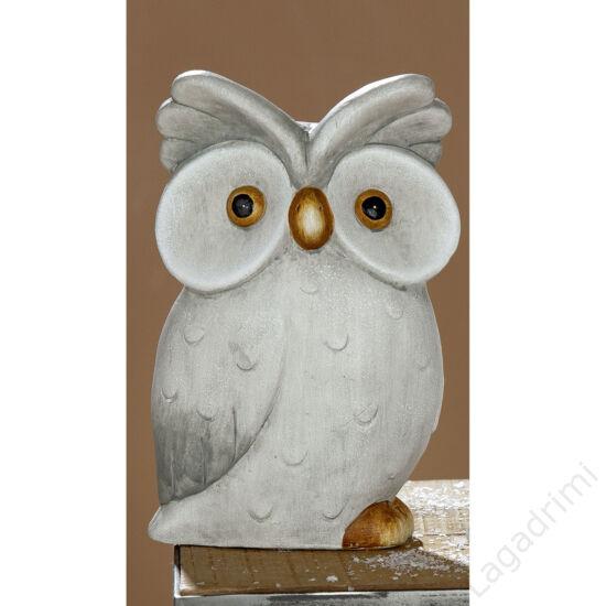 """Kerámia bagoly """"Edwin"""" (12x18,5x6,8cm) - Gilde"""
