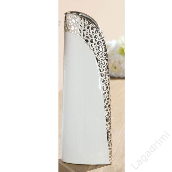 """Kerámia váza """"Cerosa"""" (13x35x9cm) - Gilde"""
