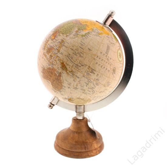 Földgömb, antik hatású (15x22x13cm) - Gilde