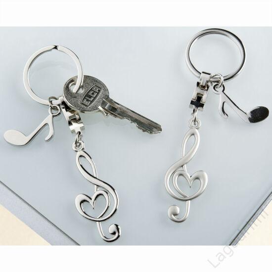 Violinkulcs kulcstartó - Gilde