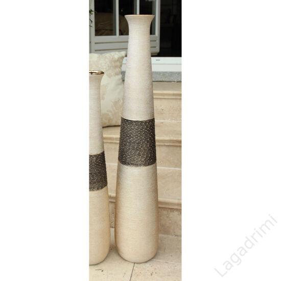 """Kerámia padlóváza """"Mangari"""" arany (18x18x100cm)  - Gilde"""