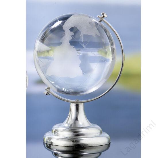 Üveg földgömb (7x9x6cm) - Gilde