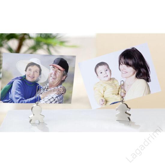 Fém kép- és jegyzetttartó (gyerek, 3x8,5x1cm) - Gilde
