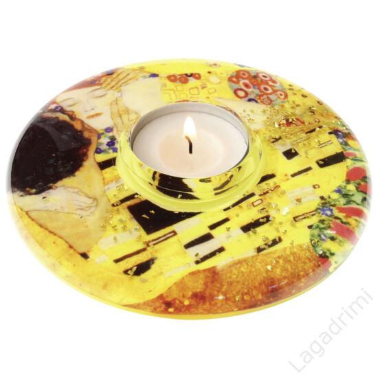"""Dream mécsestartó medium """"Ufo"""" - Klimt,  The Kiss (13cm) - Gilde"""