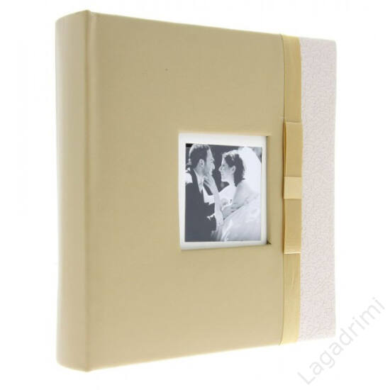 Fényképalbum esküvő Glamour arany színben (40 oldal, beragasztható)