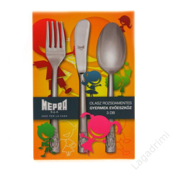 3 részes gyermek evőeszköz készlet - MEPRA Lorena