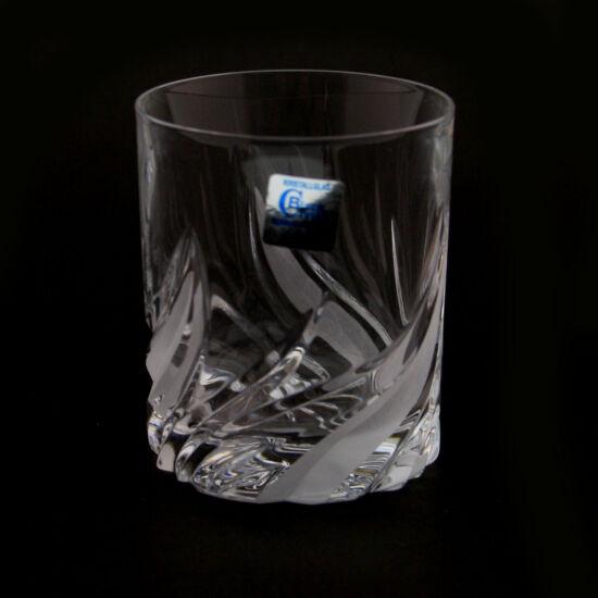 Fire modern kristály unicum 2 pohár (60ml) 6 db-os szett - Magyar termék