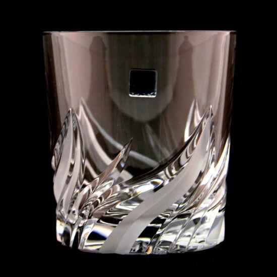 Fire modern kristály whisky 2  pohár (300ml) 6 db-os szett - Magyar termék