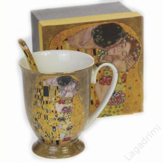 Gustav Klimt bögre + kanál