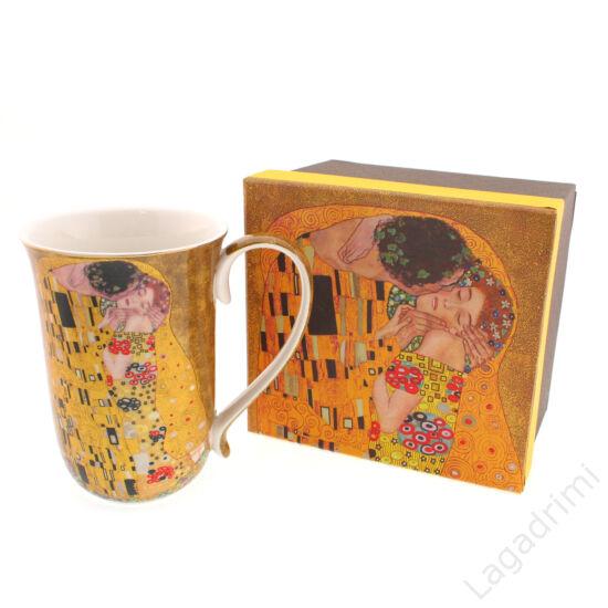 Gustav Klimt bögre (The Kiss, 400ml) dobozos