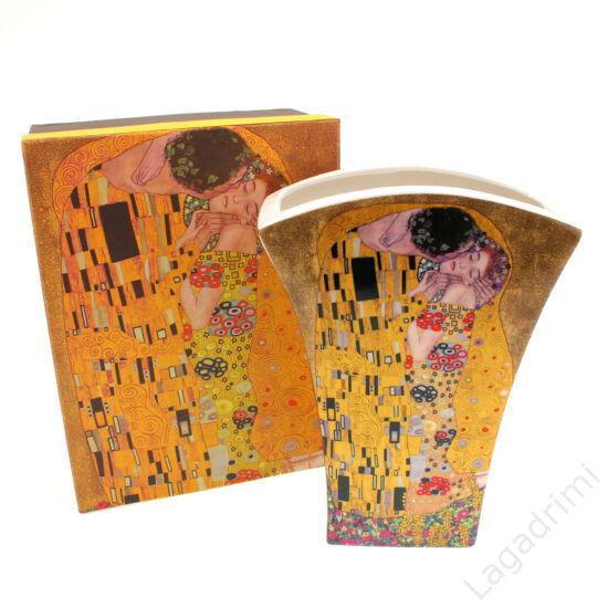 Gustav Klimt váza (The Kiss) dobozos (14,5x20x6cm)