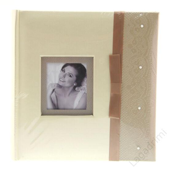 Esküvői fényképalbum (200kép, 10x15cm, arany)
