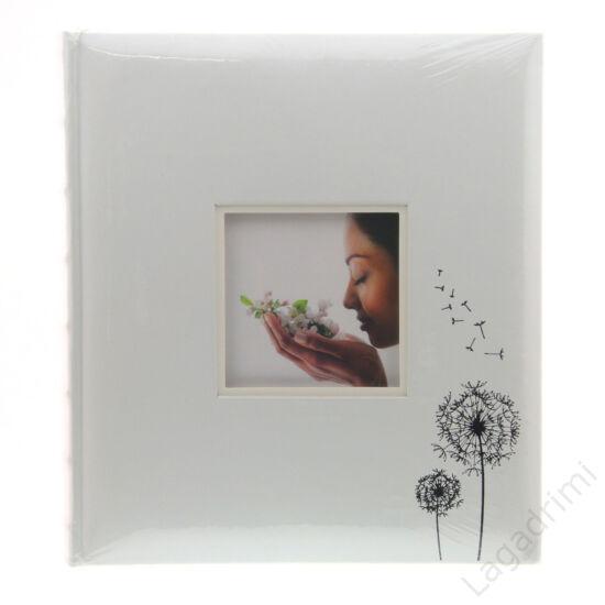 Esküvői fényképalbum (30 lap, 29x32cm, fehér)
