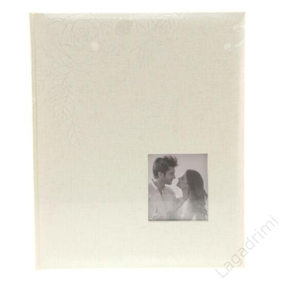 Esküvői fényképalbum (30 lap, törtfehér, 24x29cm)