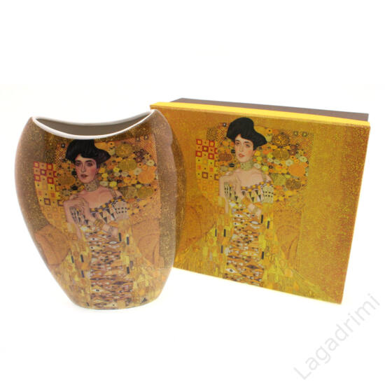 Gustav Klimt váza (Adele) dobozos (16x21x8cm)