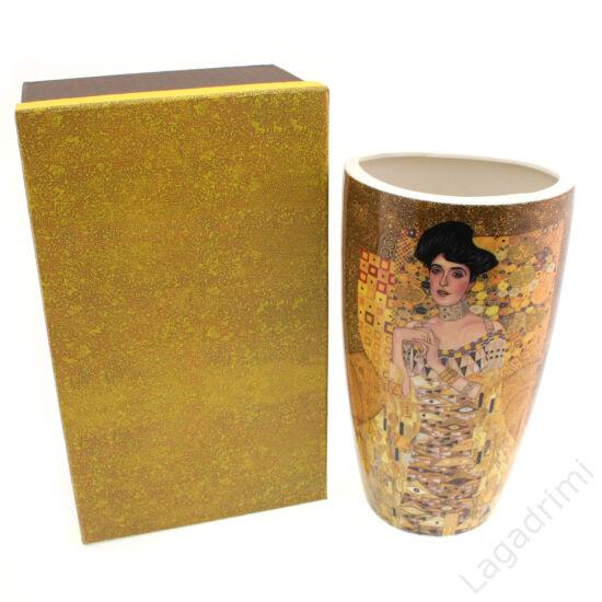 Gustav Klimt váza (Adele) dobozos (13x22x9,5cm)