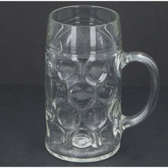 Sörös korsó (1L, üveg)