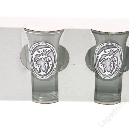 Óncímkés stampedlis pohár 6db (34ml) -  Halas