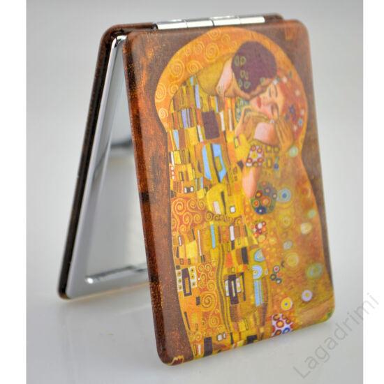 Klimt The Kiss piperetükör (szögletes, 9x6,7cm)