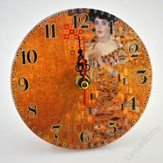 Asztali/fali óra (Klimt, Adale) (12cm)