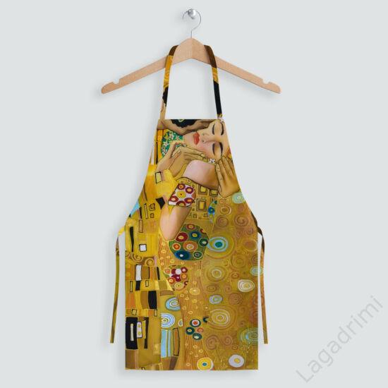 Kötény, Klimt The Kiss (60x75cm, pamut)