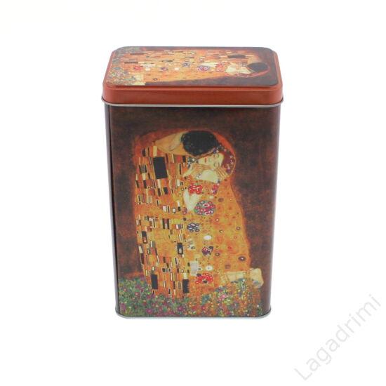 Klimt The Kiss, aromazáró tároló, szögletes (12x7,5x19cm)