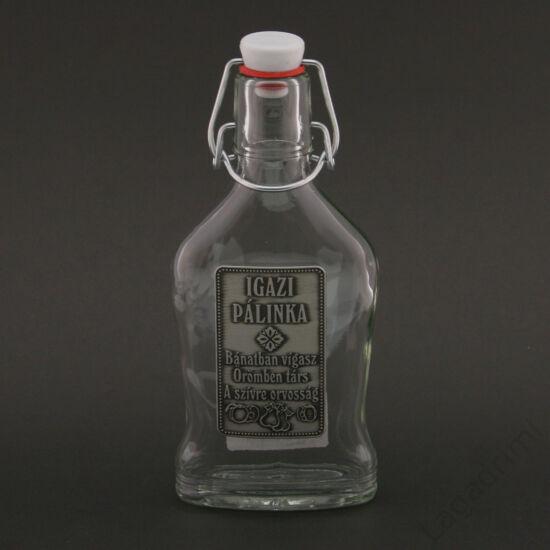 Óncímkés csatos üveg 0,2l - Bánatra vígasz