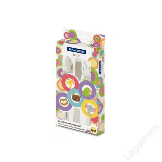 3 részes gyermek evőeszköz készlet - Tramontina baby