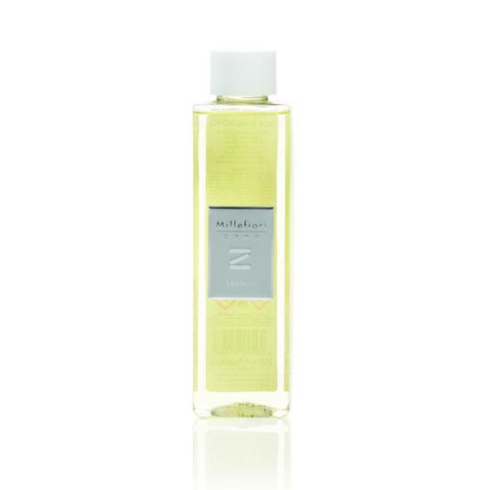 """Utántöltő folyadék bambuszpálcás illatosítóhoz """"Zona"""" (250ml, Soft leather) - Millefiori Milano"""