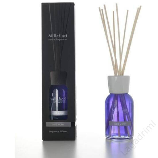 Bambuszpálcás illatosító (100ml, Violet & Musk, diffuzor) - Millefiori Milano