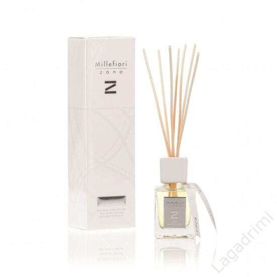 "Bambuszpálcás illatosító ""Zona"" (250ml, Rose Madelaine, diffuzor) - Millefiori Milano"